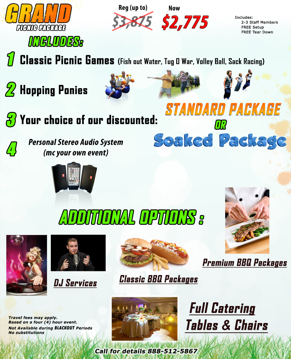 Grand Picnic Package